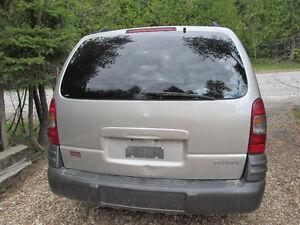 2004 Pontiac Montana Minivan, Van AS IS
