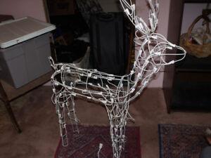 Light up Wire Reindeer