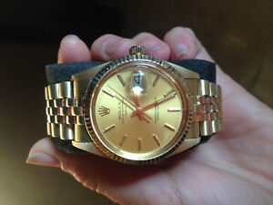 ROLEX OYSTER PERPETUAL DATE CHRONOMETER, ref. # 15037