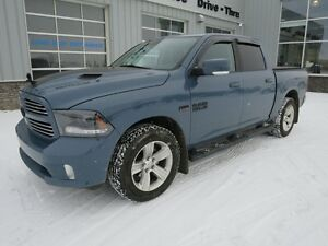 2015 Ram 1500 Sport Crew Ceramic Blue Black Eagle Edition