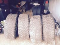 Toyo open country M/T 35x13.5R15