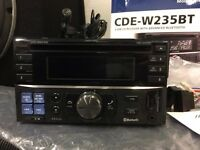 Alpine CD-W235BT Double Din. Bluetooth car stereo