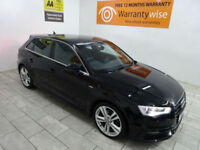 2013,Audi A3 2.0TDI 150bhp Sportback S Line***BUY FOR ONLY £62 PER WEEK***