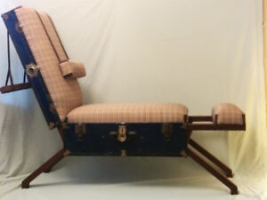 Travelers' recliner chair