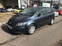 2005 / 55 Volkswagen Golf Plus 1.9TDI PD ( 105PS ) 2006MY SE *** REDUCED ****
