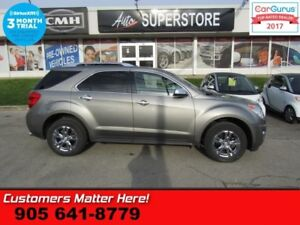 2012 Chevrolet Equinox LTZ  V6 AWD LEATHER ROOF CAMERA PWR-GATE