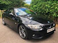 2010 10 BMW 335d M Sport Coupe 3.0 Auto 286bhp BLACK DIESEL