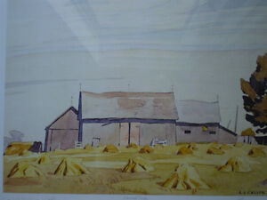 """Initialed A.J. Casson-""""Harvest Time"""" Artists Proof Kitchener / Waterloo Kitchener Area image 4"""