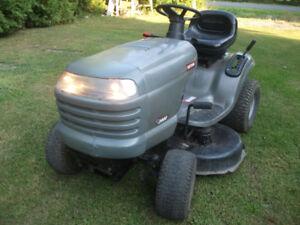 tracteur a gazon craftsman 17.5hp 42po