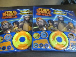 STAR WARS.Rebels to the Rescue,Play a Sound Books,NEW.RED