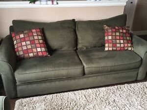Couch & Chair-n-half For Sale