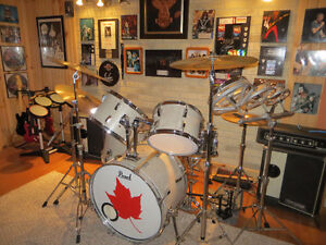 Pearl Drum Set and a LOT more// Price  lowered !!!