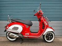 VESPA GTS 300 SUPER HPE 2020 RED MSC CLASSIC SPECIAL EDITION CHROME ACCESSORIES