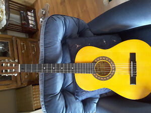 Montana hand msde 3/4  size Acoustic guitar