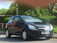 Vauxhall/Opel Corsa 1.2i 16v ( a/c ) 2007MY Club,FULL MOT,LOW TAX,LOW INSURE