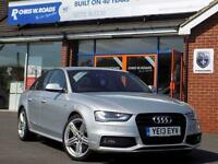 2013 13 AUDI A4 2.0 TDI S LINE BLACK EDITION (177) * FULL LEATHER * DIESEL
