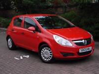 EXCELLENT EXAMPLE!!! 2009 VAUXHALL CORSA 1.2 i LIFE 5dr, 1 YEARS MOT 59000 MILES