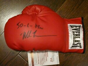 Mike Tyson signed boxing glove - various inscriptions JSA/COA Cambridge Kitchener Area image 3