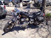Moto Yamaha Virago 1100