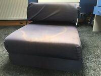 Blue childrens sofa