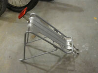 Kickstand and Pannier rack for mountain bike