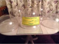Job lot of cloches Victorian bell very large plus others