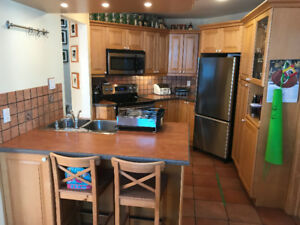 Maple kitchen cabinets- real wood