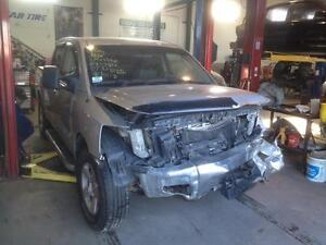 Parting out 2007 Nissan Titan crew cab