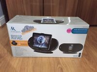 Docking station for iPad or iPhone 4