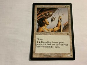 1999 RAPPELLING SCOUTS #41  MTG Mercadian Masques UNPLYD NM -MT.