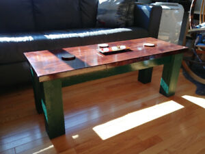 Homemade Solid Wood Coffee Table