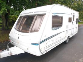 Abbey vogue gts 5 berth family caravan.