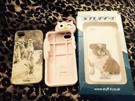iPhone 4 s cases £2 each