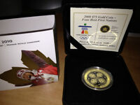 2008 Four Host Olympic Gold Coin