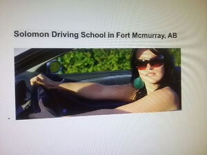 Driving School  (Fort Mcmurray, class 5 GDL, beginner )