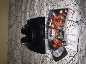 Ps3 with headset, controller and games