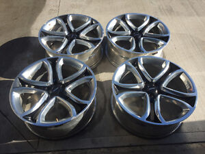 """Ford Edge Sport Explorer Lincoln MKX 22"""" OEM Wheels with TPMS"""