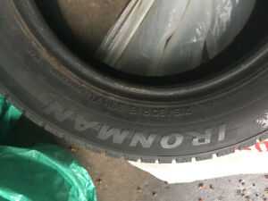 Winter Tires - used one season only