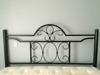 King Bed Headboard and Bed Frame Rails