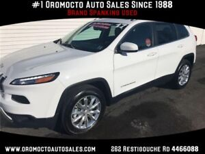 2017 Jeep Cherokee Limited LIMITED,AWD,HEATED LEATHER,SUNROOF...