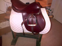 Used Stubben Edelweiss CS Junior Saddle $450 and bridle $115