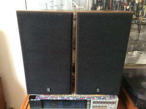 Rare vintage Yamaha NS625 4 ohm speakers