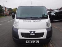 Very Rare Peugeot Boxer 2.2HDi 435 XLWB 3.5 tons Twin sided loading doors (45)