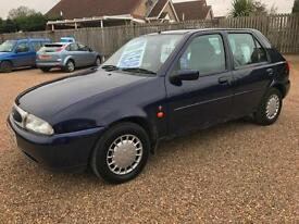 1996(P) Ford Fiesta 1.3 LX Blue 5dr Hatch, **ANY PX WELCOME**
