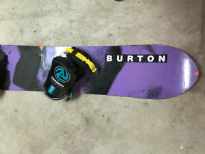 Snowboard vintage BURTON de collection