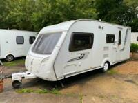 2009 Swift Challenger 530 4 berth Caravan Great Family Layout VGC Awning !