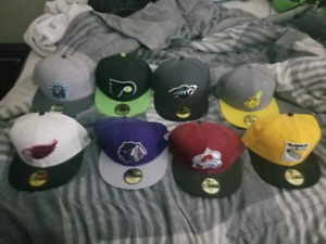 New Era Fiiteds 7 1/2 MLB NHL