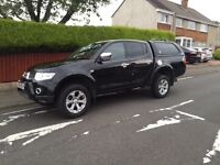 Mitsubishi l200 barbarian 2.5did automatic lwb double cab 4x4 2010 reg 10 plate no vat!!!