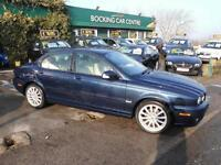 Jaguar X-TYPE 2.0D 2008 S DIESEL LOW 63000MLS FULL LEATHER EXCELLENT