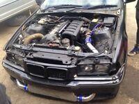 M50/m52 turbo kit e36 drift turbo